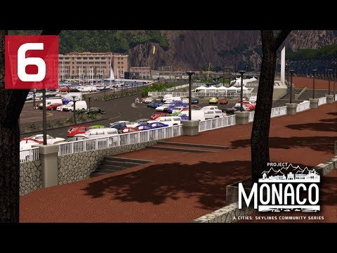 Cities: Skylines: Project: Monaco - EP 6 - Custom Slopes and Stairs