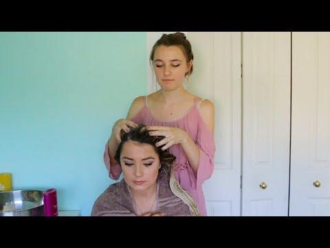 ASMR - Hair Salon Roleplay 2 ♡     Soapy Hair Washing & Scalp Massage