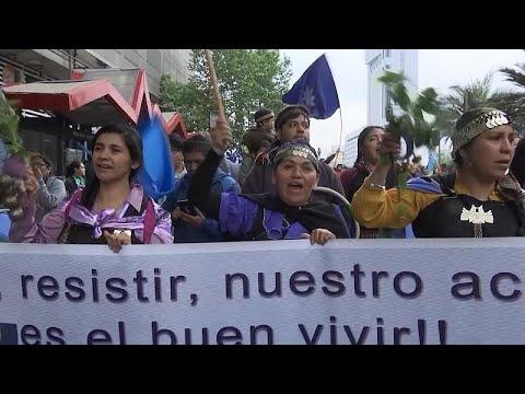 شاهد: -المابوتشي- يطالبون بالمزيد من الحقوق في تشيلي  - نشر قبل 2 ساعة