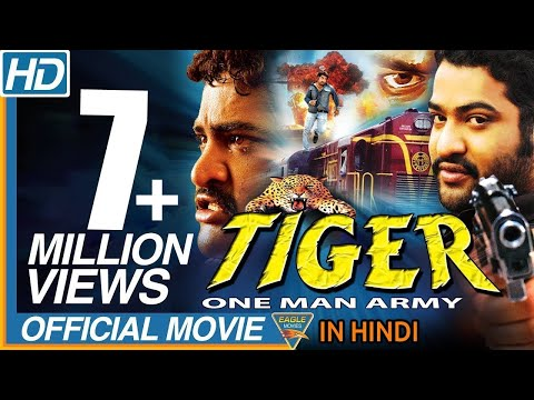 Tiger One Man Army Hindi Dubbed Full Movie || NTR, Sonali Joshi || Bollywood Full Movies