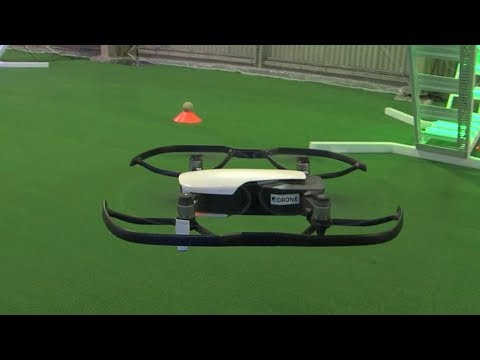 Tokyo's drone arena helps enthusiasts test flying skills