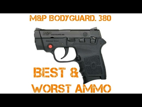 Best and Worst Ammo to use for MP Bodyguard
