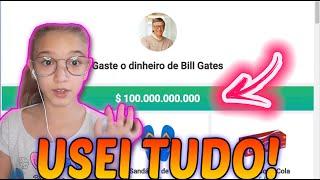 TORREI O DINHEIRO DO BILL GATES - I FINISHED BILL GATES MONEY - MUNDO DA GIOH