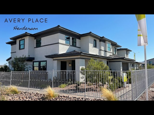 Avery Place by Harmony Homes | Modern Townhomes for Sale Henderson Cadence | 337k+, 1,505sf