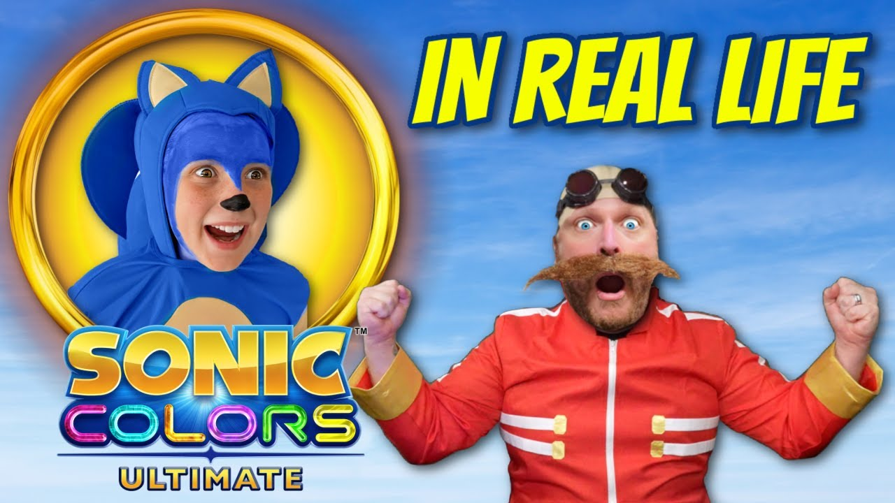 Sonic Colors Ultimate In Real Life! NOOB Family is Trapped by Dr Robotnik