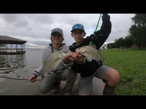 Sand Bassin' At Richland Chambers Resivior!!! | Trace & Clint
