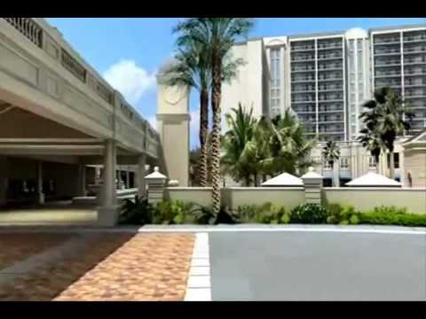Hilton Grand Vacation Club Orlando - pre-construction animated tour (edited)