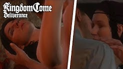 Kingdom Come: Deliverance - All Romance Scenes (SIDE QUEST) Theresa or Lady Stephanie?