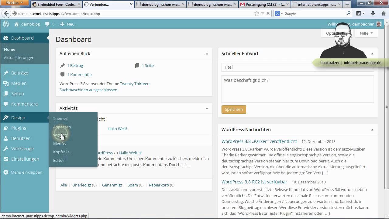 how to add mailchimp newsletter to wordpress