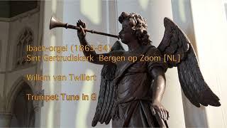 Willem van Twillert TRUMPET VOLUNTARY in G (Free Sheet music) Ibach-organ Bergen op Zoom [NL]