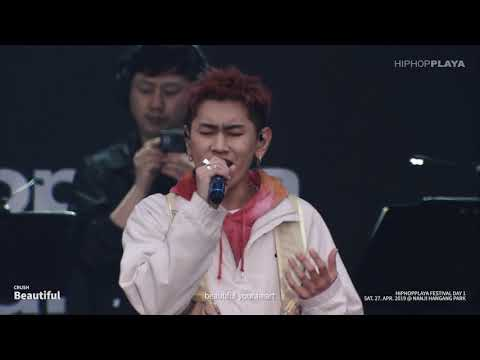 Crush - Beautiful - Live At HIPHOPPLAYA FESTIVAL 2019