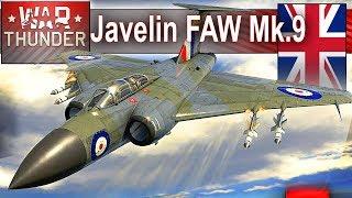 Javelin FAW Mk.9 - odrzutowy piękniś w War Thunder - realistyk