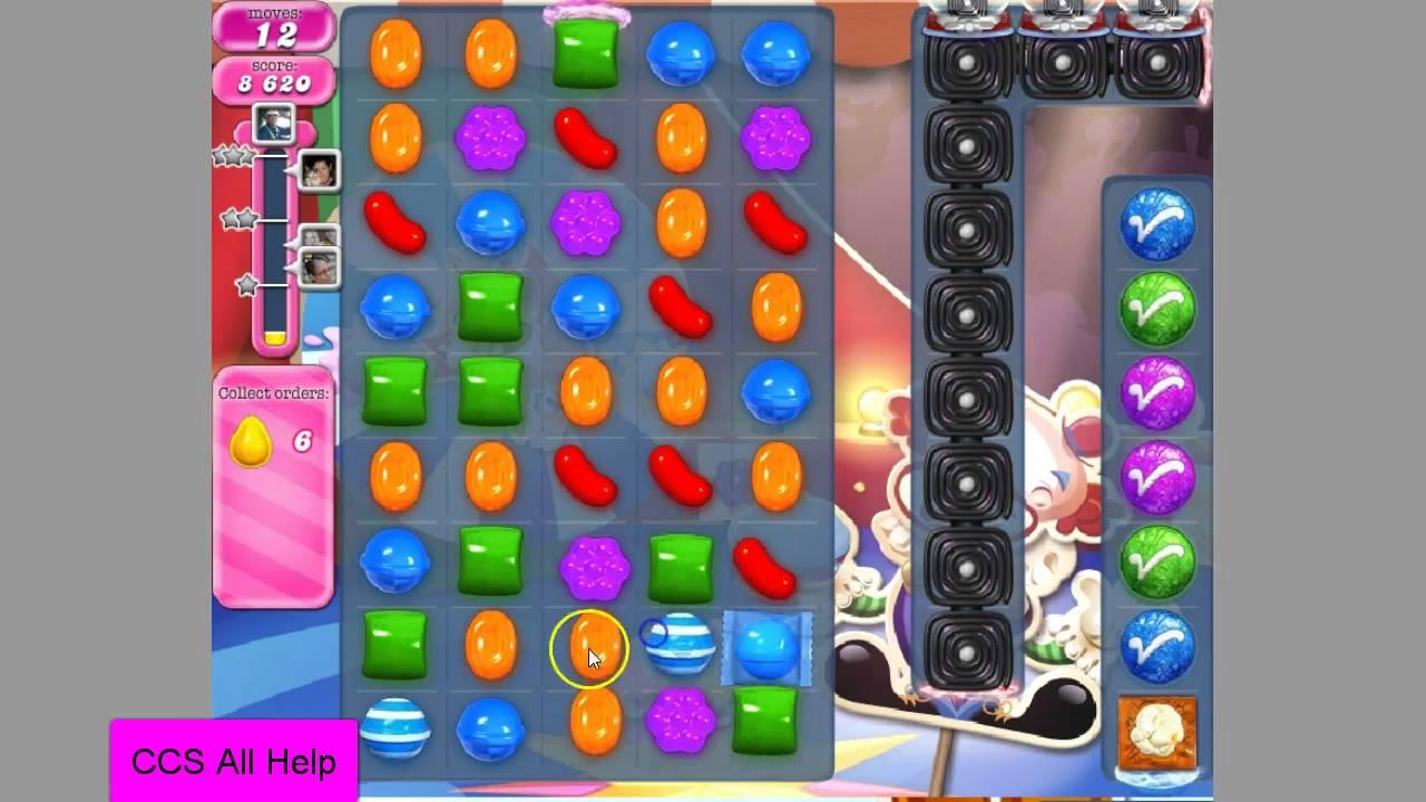 Candy Crush Saga Level 1385 NO BOOSTERS - YouTube