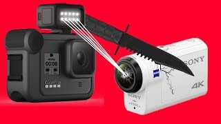 GoPro 8 vs Sony X3000: It's Not Even Close