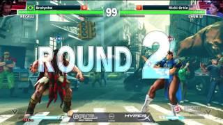 Brolynho conquista mais uma vitória na ELEAGUE de Street Fighter V
