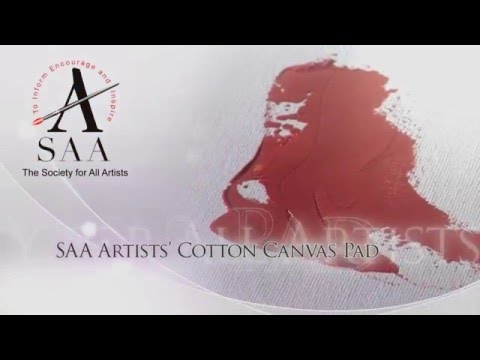 SAA Artists' Cotton Canvas Pad