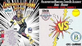 IZAGA vs CBS CAMBRE  - 17:00 - GRUPO B - FASE CLASIFICACIÓN