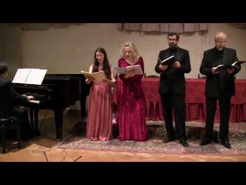 BRAHMS - Liebeslieder Walzer op. 52 SATB 4h - LIVE