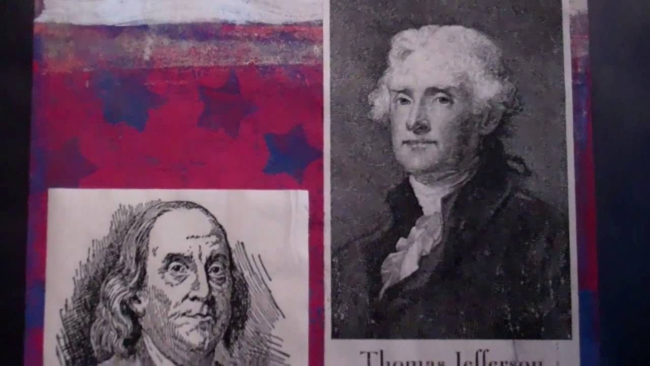 July 4 1776 Mural Of Founding Fathers Quotes At City Swiggers