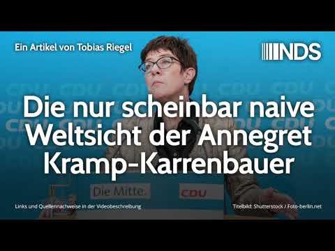 Die nur scheinbar naive Weltsicht der Annegret Kramp-Karrenbauer | Tobias Riegel | 26.08.2019