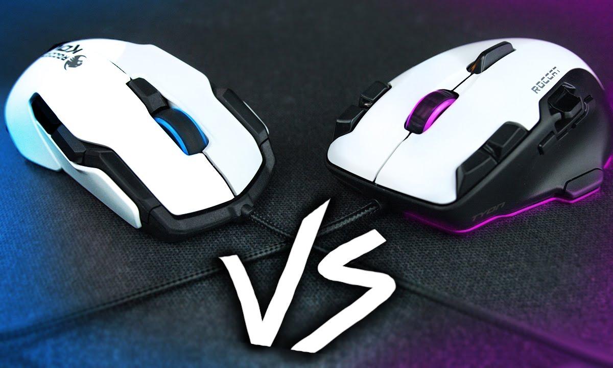 643225257d9 Roccat Kova vs Tyon - Gaming Mice Comparison - YouTube