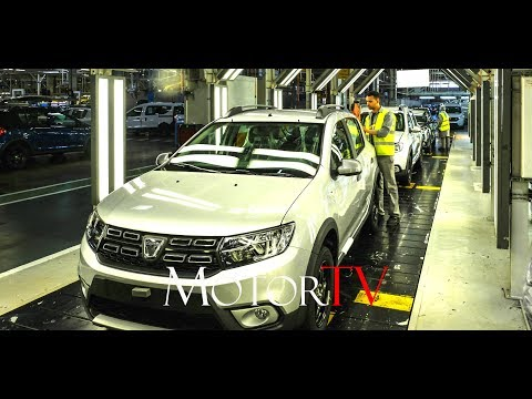 CAR FACTORY : DACIA SANDERO, LODGY & DOKKER PRODUCTION IN TANGER (MOROCCO) l Clip