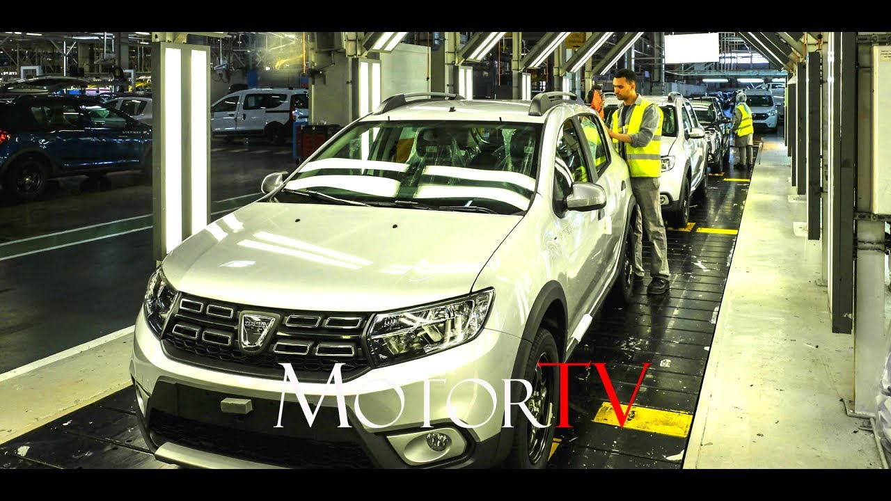 Car Factory Dacia Sandero Lodgy Dokker Production In Tanger
