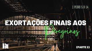Exortações Finais Aos Peregrinos  - 1Pedro 5. 8-14| Rev. Ediano Santos