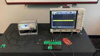 Automotive Ethernet Transmitter Test w/ Distortion Using Keysight's MSOS804A, 33600A, and AE6910T