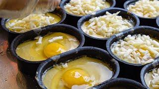 오븐에 굽는 모짜렐라 치즈 계란빵 - 홍대 길거리음식 …