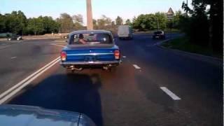 V8 ГАЗ-24 Волга, Пробный заезд