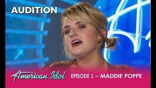 Maddie Poppe: A Unique DREAMY Singer/Songwriter Impresses The Judges  | American Idol 2018