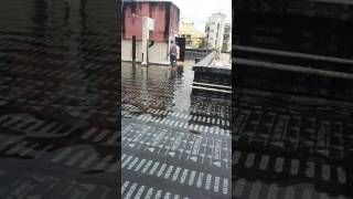 building terrace waterproofing work done by samarth construction contact 91 9987478765