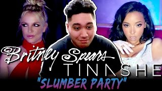Britney Spears - Slumber Party ft. Tinashe REACTION!!!