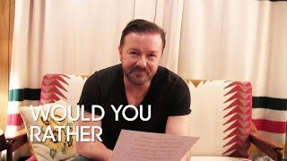 This or That: Ricky Gervais