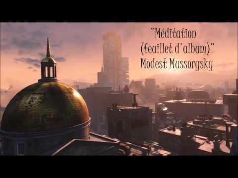 Fallout 4: Classical Radio - Méditation (feuillet d'album) - Modest Mussorgsky