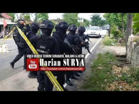 Detik-detik Penembakan Mati 6 Terduga Teroris di Tuban