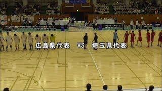 ハンドボール 2019茨城国体 埼玉vs広島 成年男子準々決勝