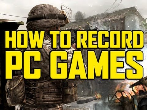 How to record PC Games! No LAG! Anyone can do it!
