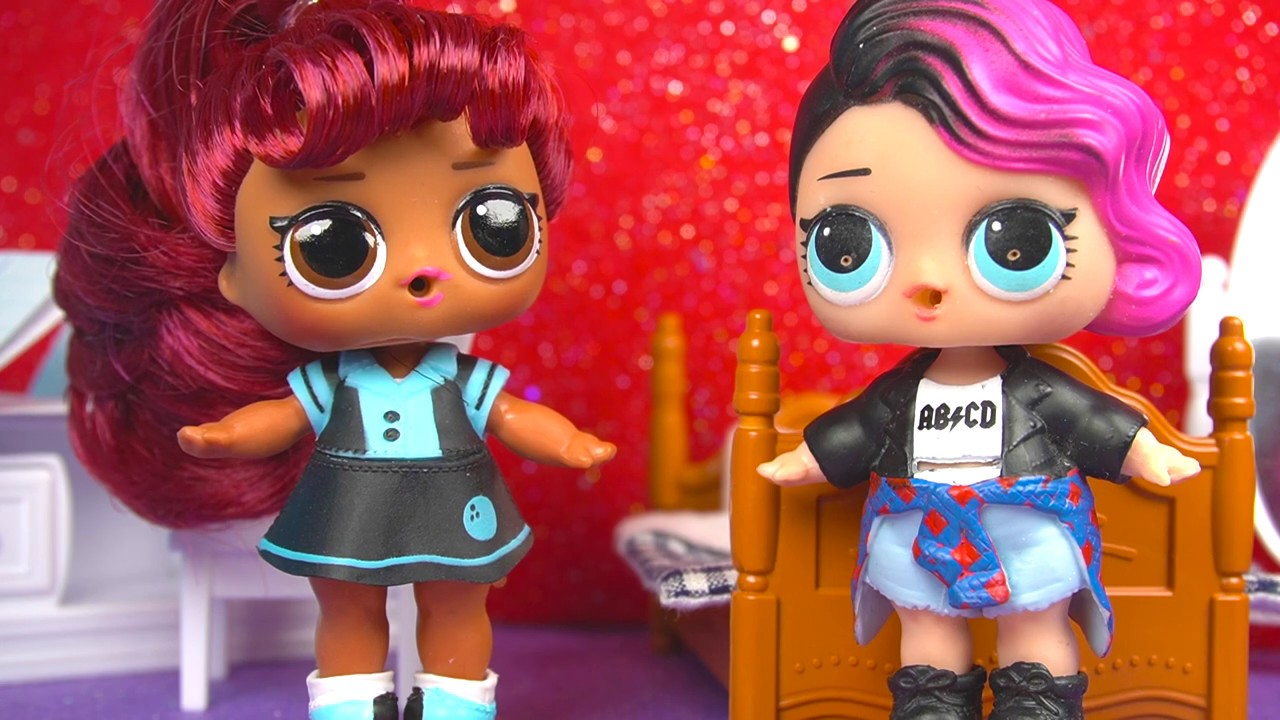 Куколка БРОСИЛА ШКОЛУ LOL Dolls Видео для детей про Куклы ...