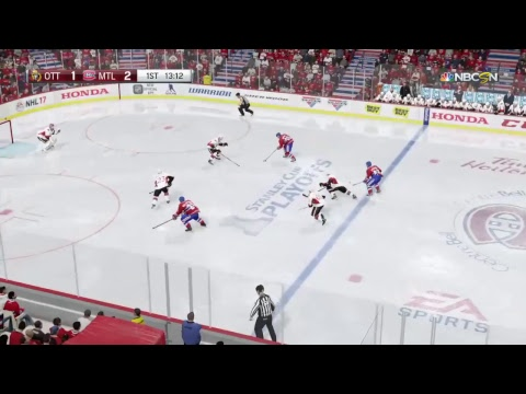 FRANCHISE gameplay playoffs gm 1 VS OTT