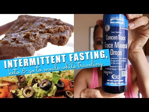 Intermittent Fasting & Full Days of Eating Keto WHILE Traveling // PT 3