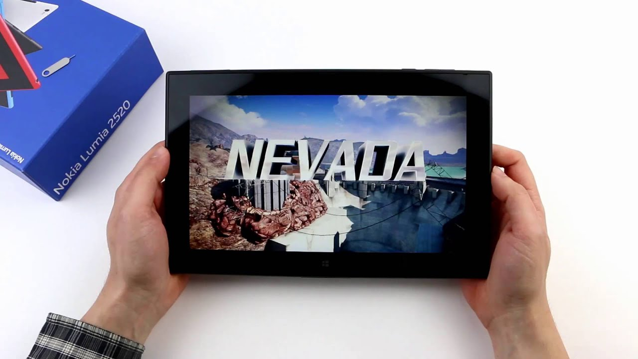 Review Nokia Lumia 2520 Tablet - NotebookCheck net Reviews