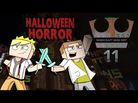 Jirka a GEJMR Hraje - Minecraft Mini hry 11 - Halloween horror