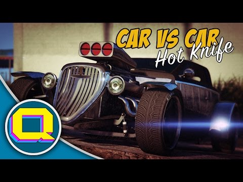 HOTKNIFE! - GTA: Online [Car Vs Car]