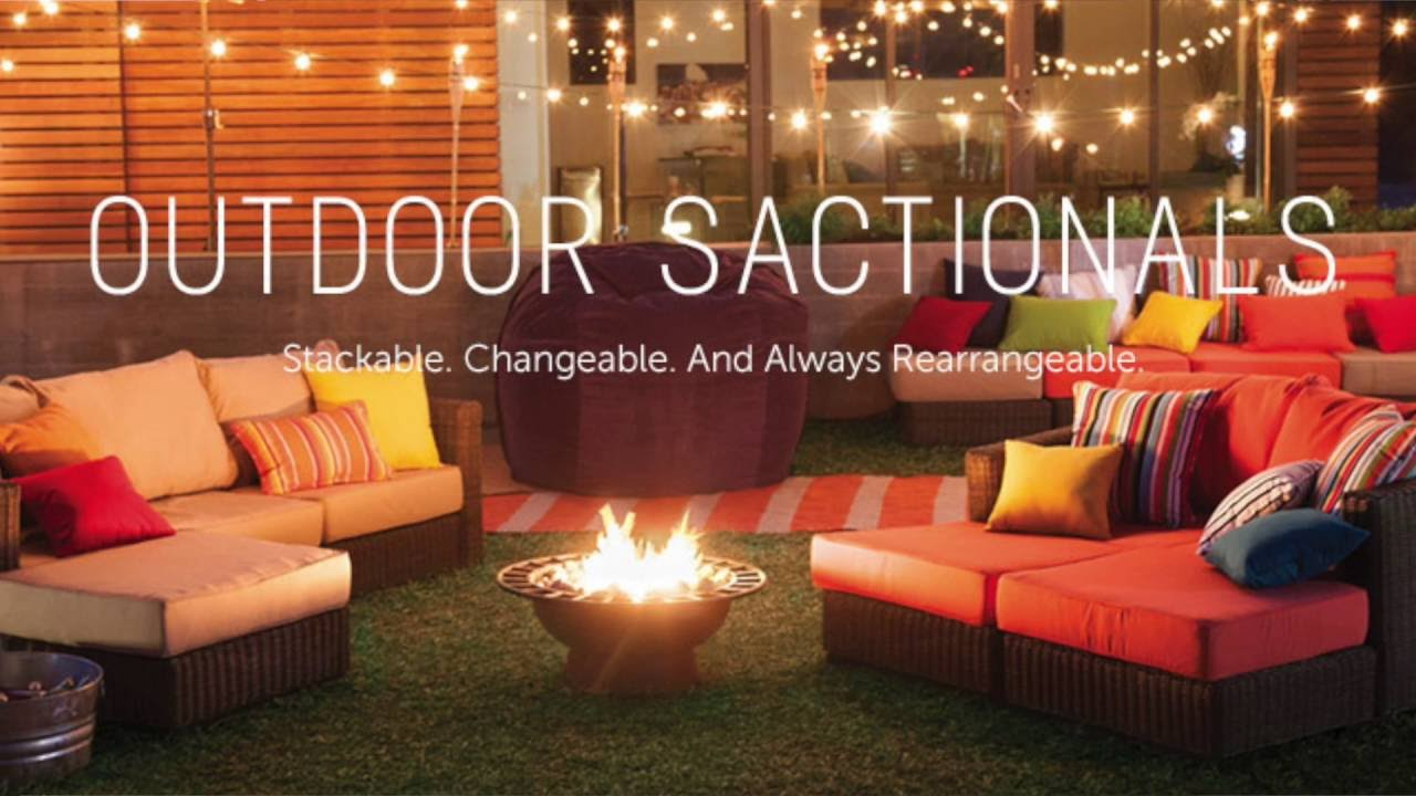 Love Sac Lovesac Outdoor Patio Furniture Sactional Product Review How To  Put Together