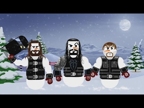 WWE Superstars come to life as animated holiday characters