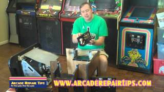 Arcade Repair Tips - Opening A Cocktail Cabinet