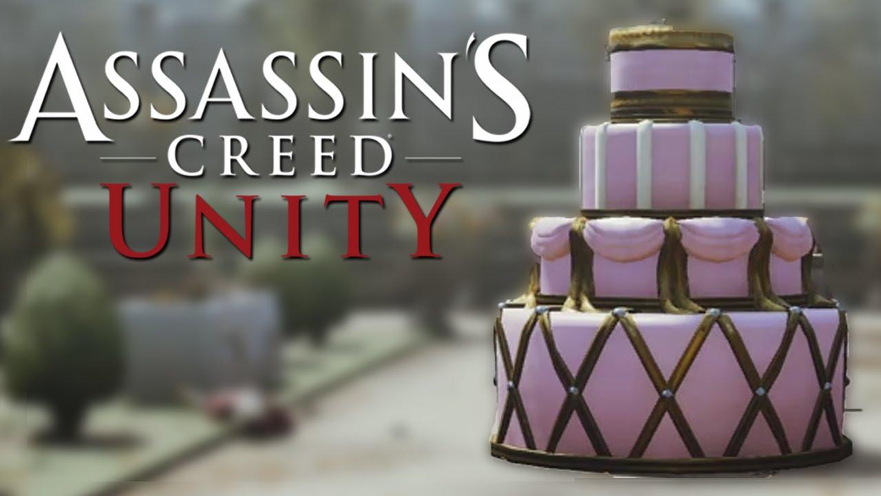 Assassin's Creed Unity - Cake Easter Egg [Solved] - YouTube