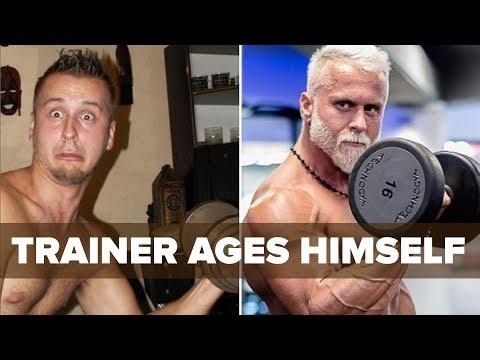 Trainer Spends BIG Cash to Make Himself OLDER | Tiger Fitness